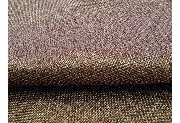 П-образный модульный диван Холидей Люкс Коричневый (Рогожка) - фото 7