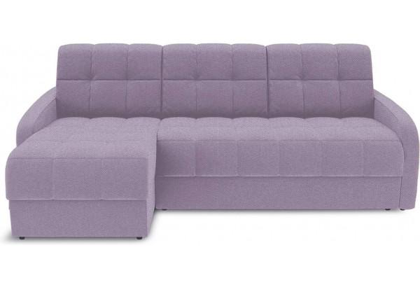 Диван угловой левый «Аспен Slim Т1» (Neo 09 (рогожка) фиолетовый) - фото 2