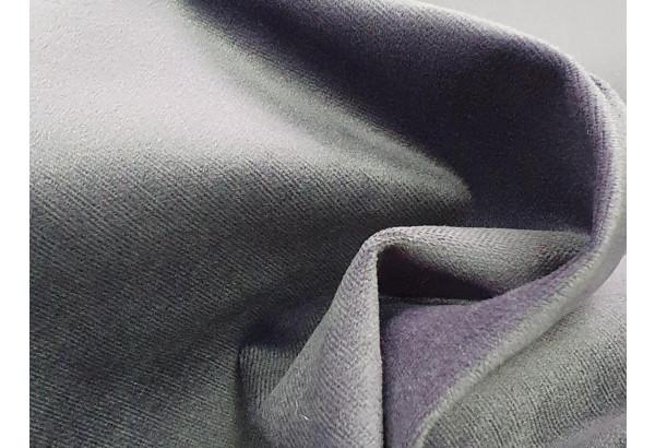 Кухонный прямой диван Династия черный/фиолетовый (Велюр) - фото 6