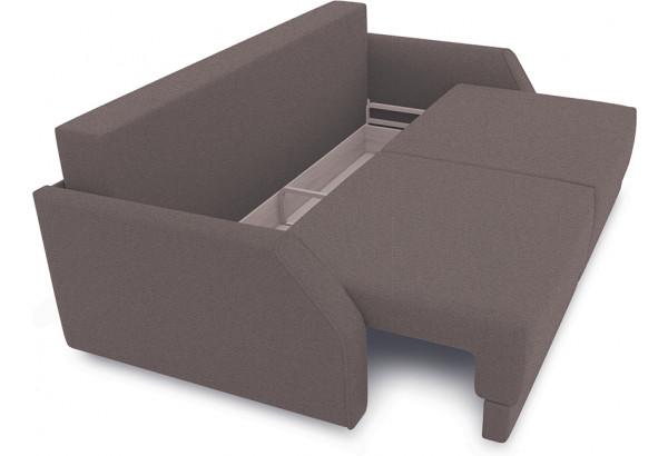 Диван «Люксор Slim» Neo 12 (рогожка) коричневый - фото 5