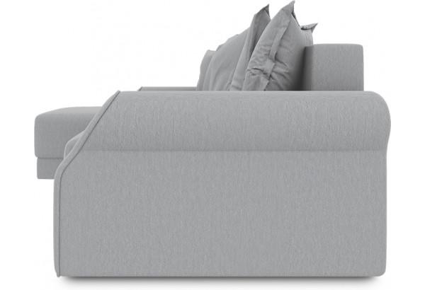 Диван угловой левый «Люксор Т1» (Poseidon Grey (иск.замша) серый) - фото 3