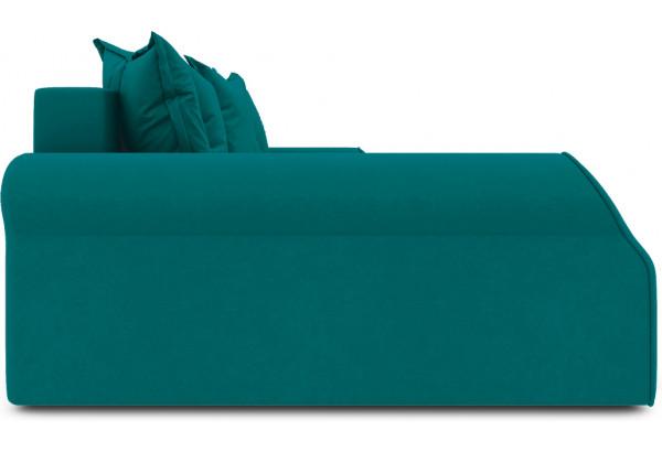 Диван угловой левый «Люксор Т2» Beauty 06 (велюр) изумрудный - фото 4