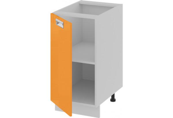 Шкаф напольный (левый) (БЬЮТИ (Оранж)) - фото 2