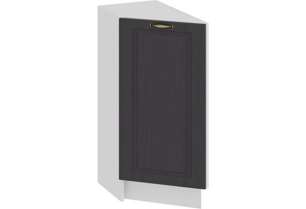 Шкаф напольный торцевой с одной дверью «Лина» (Белый/Графит) - фото 1