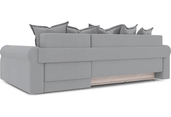 Диван угловой правый «Люксор Т2» (Poseidon Grey (иск.замша) серый) - фото 4