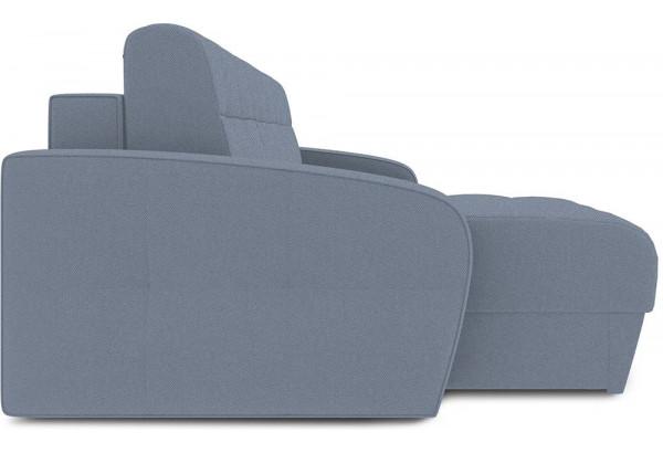 Диван угловой левый «Аспен Slim Т1» (Neo 07 (рогожка) светло-серый) - фото 4