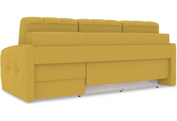 Диван угловой правый «Аспен Slim Т1» (Poseidon Curcuma (иск.замша) желтый) - фото 5