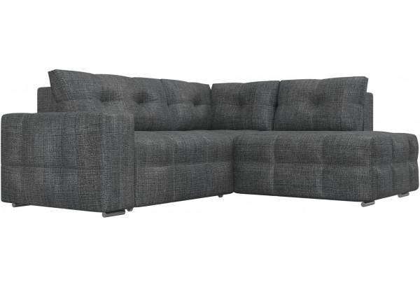 Угловой диван Леос Серый (Рогожка) - фото 3