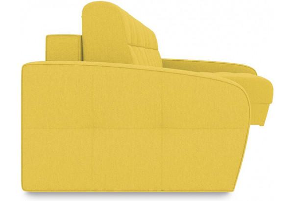 Диван угловой правый «Аспен Slim Т2» (Neo 08 (рогожка) желтый) - фото 3