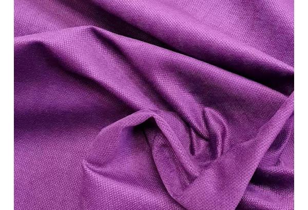 Прямой диван Мейсон Фиолетовый/Черный (Микровельвет/Экокожа/флок на рогожке) - фото 9