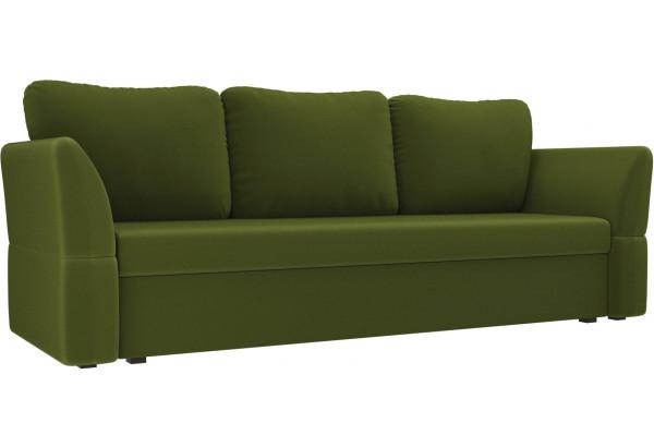 Диван прямой Гесен Зеленый (Микровельвет) - фото 1