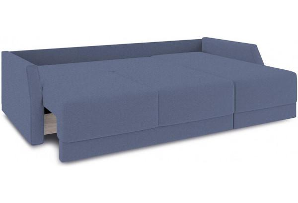 Диван угловой правый «Люксор Slim Т1» (Neo 14 (рогожка) сиреневый) - фото 7