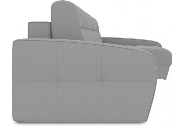 Диван угловой правый «Аспен Т2» (Poseidon Grey (иск.замша) серый) - фото 3