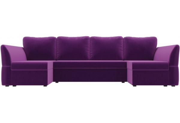 П-образный диван Гесен Фиолетовый (Микровельвет) - фото 2