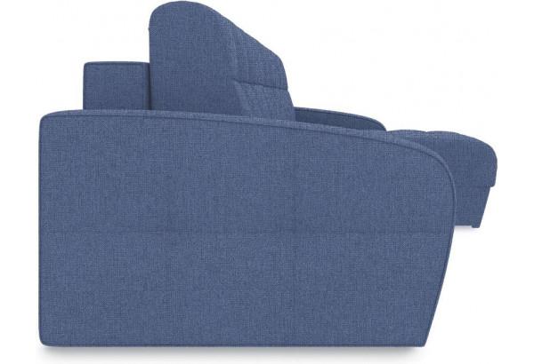 Диван угловой правый «Аспен Slim Т1» (Levis 78 (рогожка) Темно-синий) - фото 3