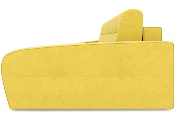 Диван угловой правый «Аспен Т2» (Maserati 11(велюр),желтый) - фото 4