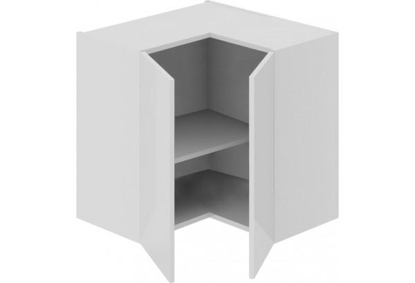 Шкаф навесной угловой с углом 90 Фэнтези (Белый универс) - фото 1
