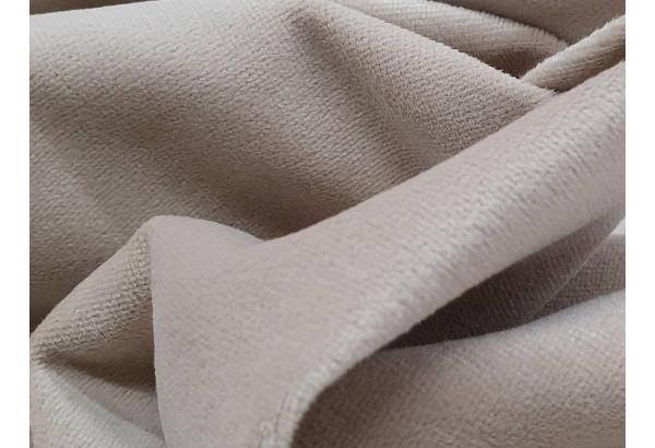 Кухонный прямой диван Токио бежевый/коричневый (Велюр) - фото 7