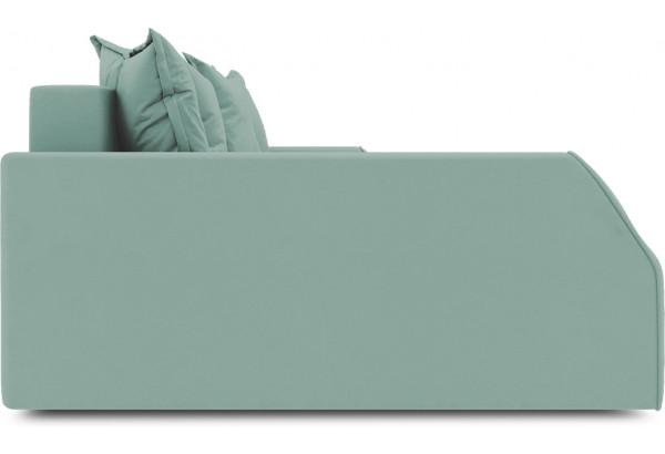 Диван угловой левый «Люксор Slim Т2» (Kolibri Aqva (велюр) бирюзовый) - фото 5