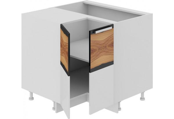 Шкаф напольный угловой с углом 90° Фэнтези (Вуд) - фото 1