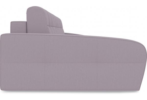 Диван угловой левый «Аспен Slim Т2» (Poseidon Pale Lavender (иск.замша) бледно-лавандовый) - фото 4