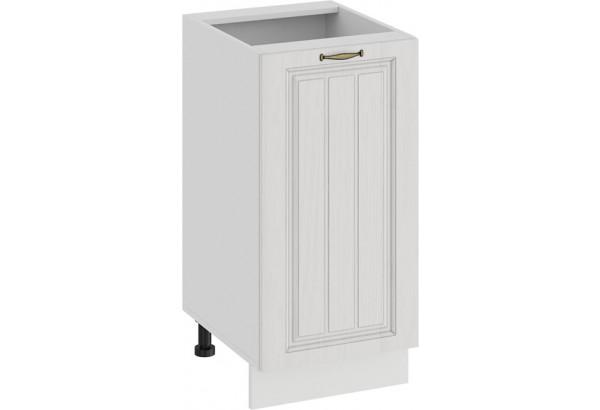 Шкаф напольный с одной дверью «Лина» (Белый/Белый) - фото 1