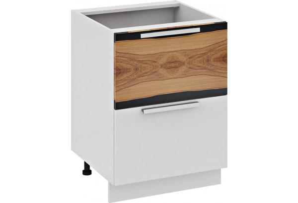 Шкаф напольный с 2-мя ящиками и 1-м внутренним (Фэнтези (Вуд)) - фото 1