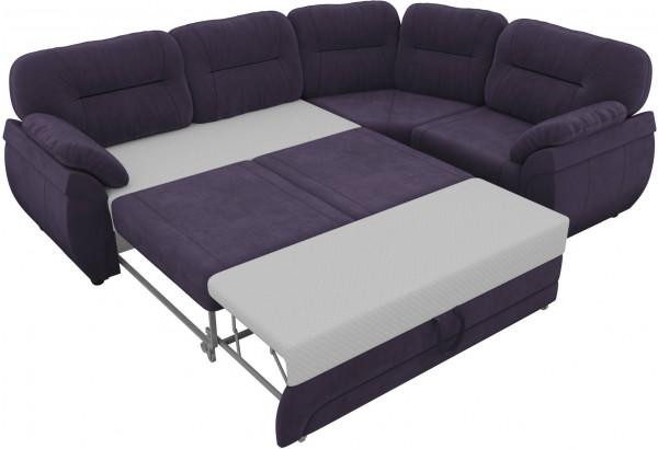 Угловой диван Бруклин Фиолетовый (Велюр) - фото 5