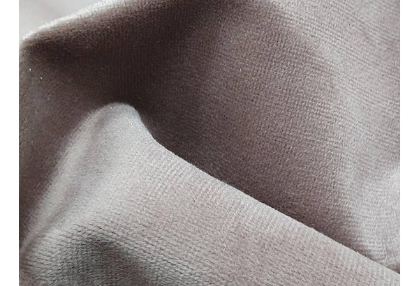 Кухонный прямой диван Токио бежевый/коричневый (Велюр) - фото 9