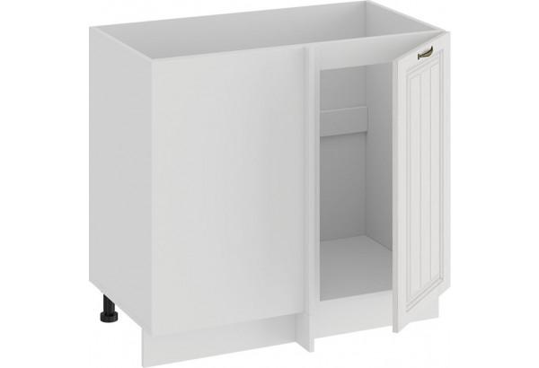 Шкаф напольный угловой «Лина» (Белый/Белый) - фото 2