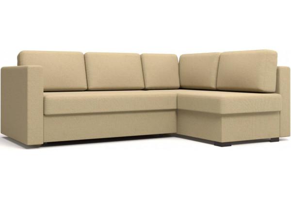 Угловой диван Джессика 2 (правый) бежевый - фото 1