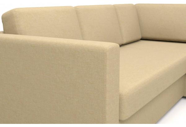 Угловой диван Джессика 2 (правый) бежевый - фото 5