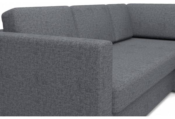 Угловой диван Джессика 2 (правый) серый - фото 5