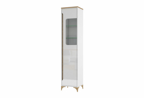 Шкаф со стеклом Хлоя - фото 1