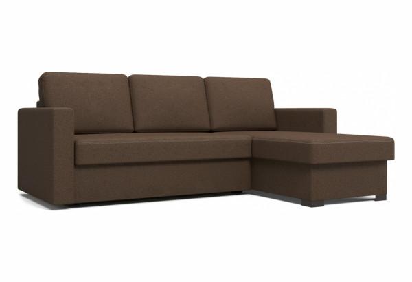 Угловой диван Джессика коричневый - фото 1