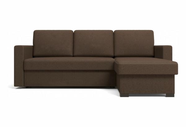 Угловой диван Джессика коричневый - фото 3