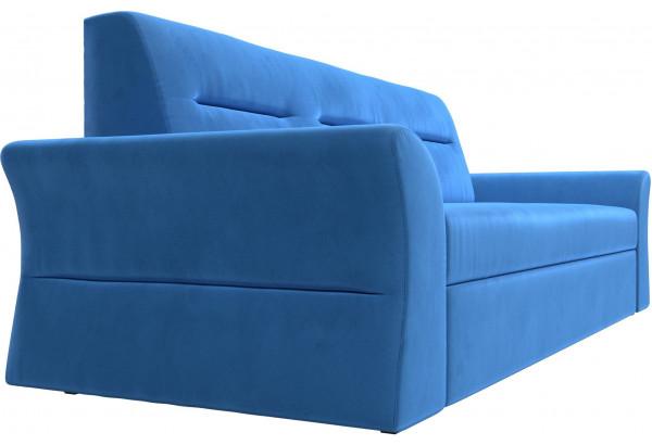 Прямой диван Клайд Голубой (Велюр) - фото 3