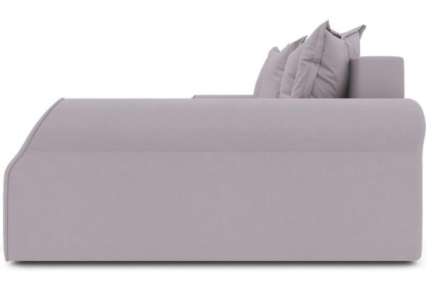 Диван угловой правый «Люксор Т2» (Poseidon Pale Lavender (иск.замша) бледно-лавандовый) - фото 5