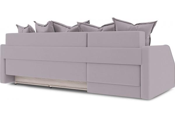 Диван угловой левый «Люксор Slim Т1» (Poseidon Pale Lavender (иск.замша) бледно-лавандовый) - фото 4