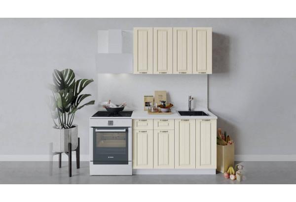 Кухонный гарнитур «Лина» длиной 120 см (Белый/Крем) - фото 1