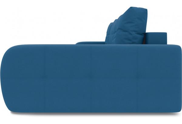 Диван угловой правый «Томас Т2» Beauty 07 (велюр) синий - фото 4