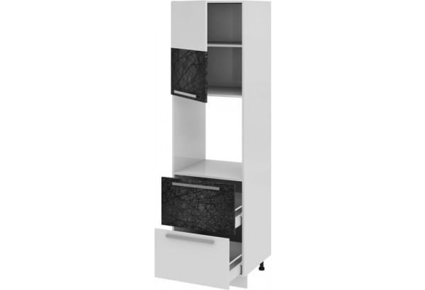 Шкаф пенал под бытовую технику с 2-мя ящиками (левый) Фэнтези (Лайнс) - фото 1
