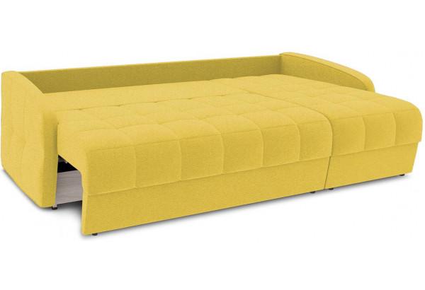 Диван угловой правый «Аспен Slim Т1» (Neo 08 (рогожка) желтый) - фото 7