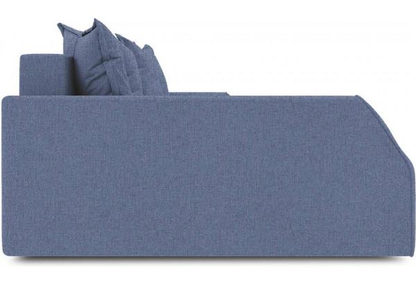 Диван угловой левый «Люксор Slim Т2» (Levis 78 (рогожка) Темно-синий) - фото 5
