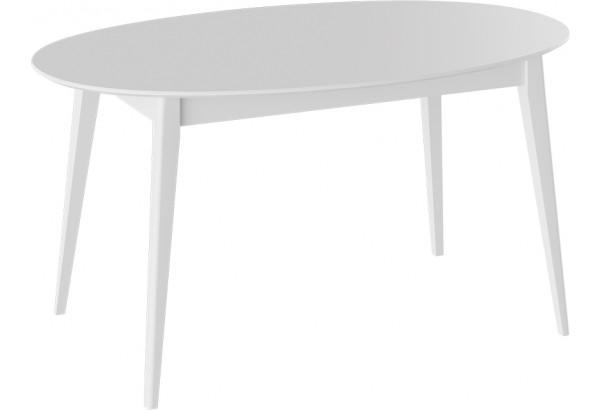Стол «Феникс» МДФ Тип 1 исп. 6 (Белый/Белый) - фото 1