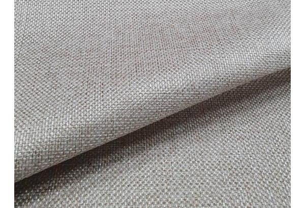 Угловой диван Митчелл бежевый/коричневый (Рогожка/Экокожа) - фото 8