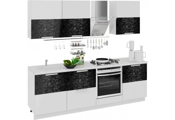 Кухонный гарнитур длиной - 240 см (со шкафом НБ) Фэнтези (Лайнс) - фото 1