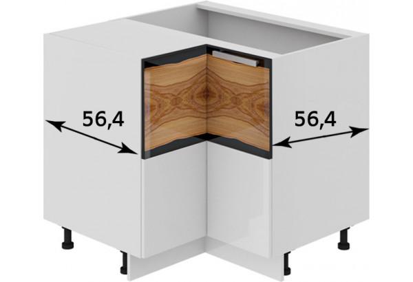Шкаф напольный угловой с углом 90° Фэнтези (Вуд) - фото 3