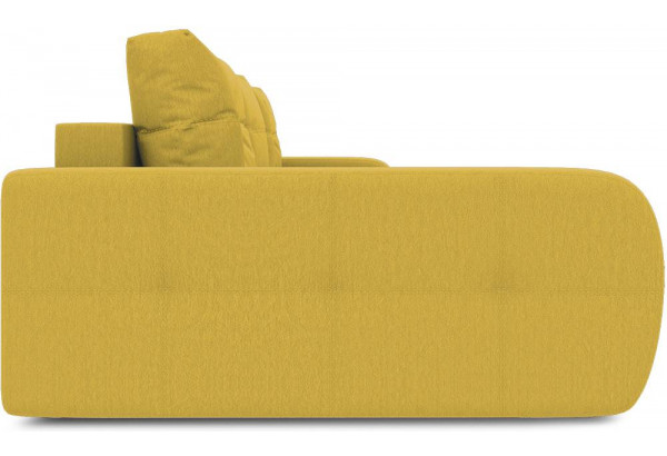 Диван угловой левый «Томас Т2» (Poseidon Curcuma (иск.замша) желтый) - фото 5