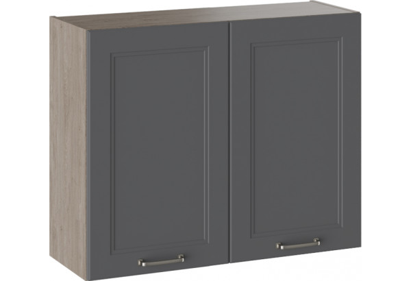 Шкаф навесной ОДРИ (Серый шелк) - фото 1